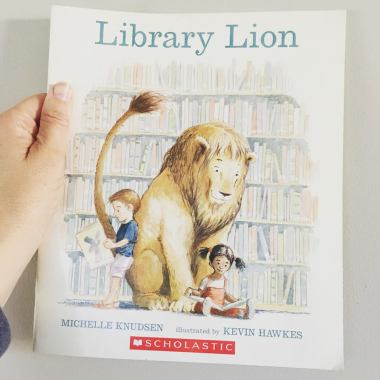 Library Lion 1